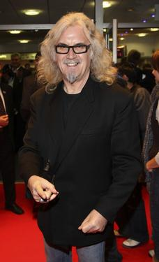 Billy Connolly at the Times BFI 51st London Film Festival screening of &quot;Interview.&quot;